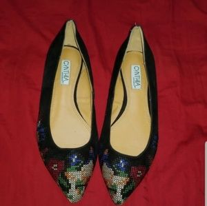 Ladies Flats Are Size 8.5